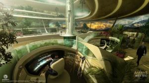 Abstergo Entertainment Working Area By EddieBennun