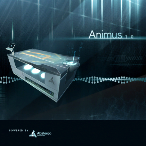 Advertisement for the first Animus