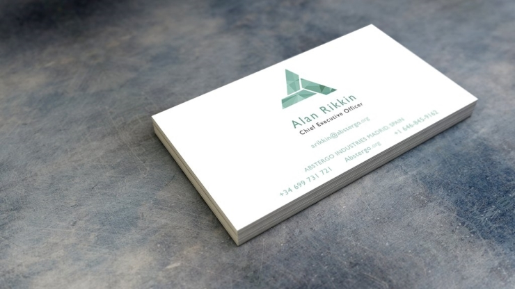 Abstergo Business Card Movie